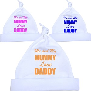5938d06c3f1  Me And My Mum Love Daddy  Knotted Hat ·