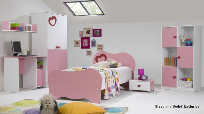 Enjoyable Amelia Pink Full Bedroom Set Home Interior And Landscaping Ymoonbapapsignezvosmurscom