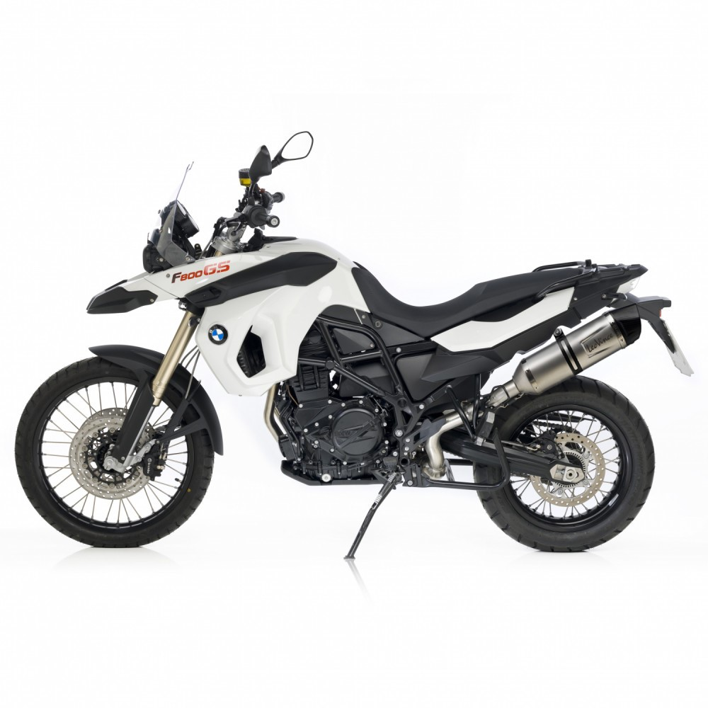 bmw f800 gs leovince lv one evo slip on exhaust. Black Bedroom Furniture Sets. Home Design Ideas