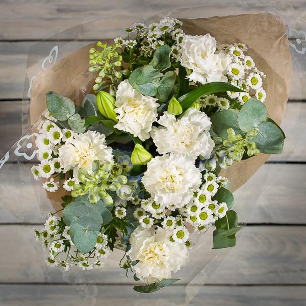 Baby Blue Bouquet - Morrisons Flowerworld