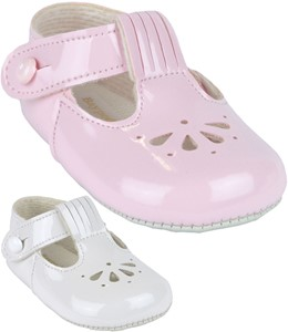 a4ba4d08a823c Baby Girls Fan T - Bar Classic Soft Soled BayPods Shoes