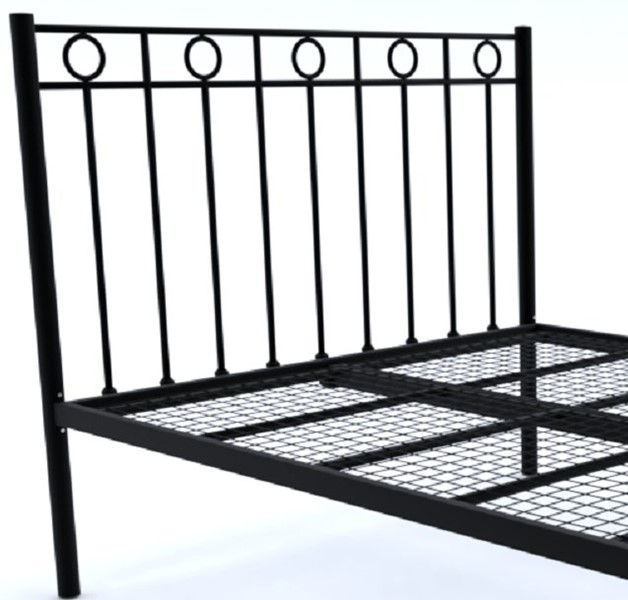 Pleasing Black Myrtille Wrought Iron Metal Bed Frame 3Ft Single Onthecornerstone Fun Painted Chair Ideas Images Onthecornerstoneorg