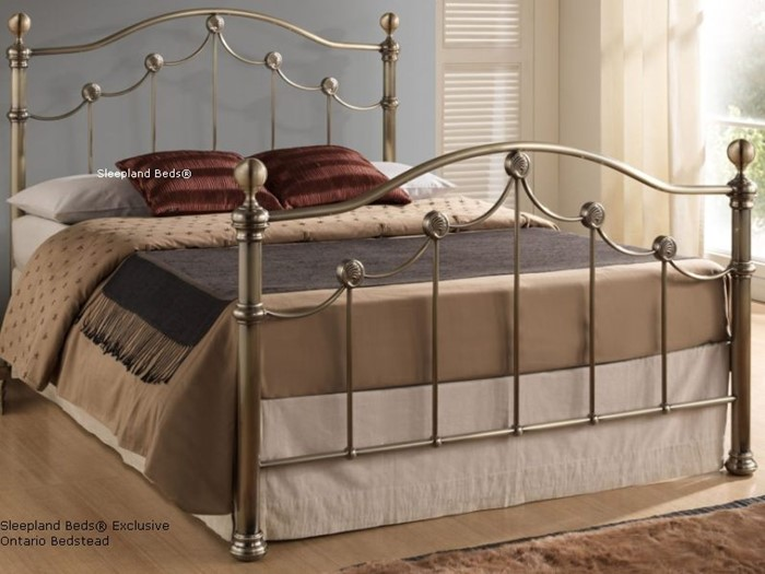 Br Metal Bed Frame 4ft6 Double