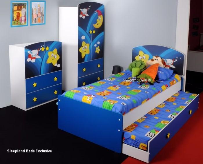 Childrens Bedroom Furniture Set - Super Star Galaxy Guest ...