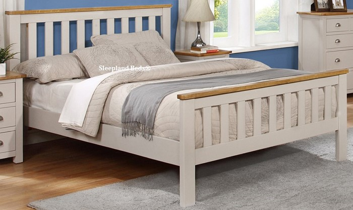 Swell Sweet Dreams Cooper Grey Wood Kingsize Bed Sleepland Beds Camellatalisay Diy Chair Ideas Camellatalisaycom