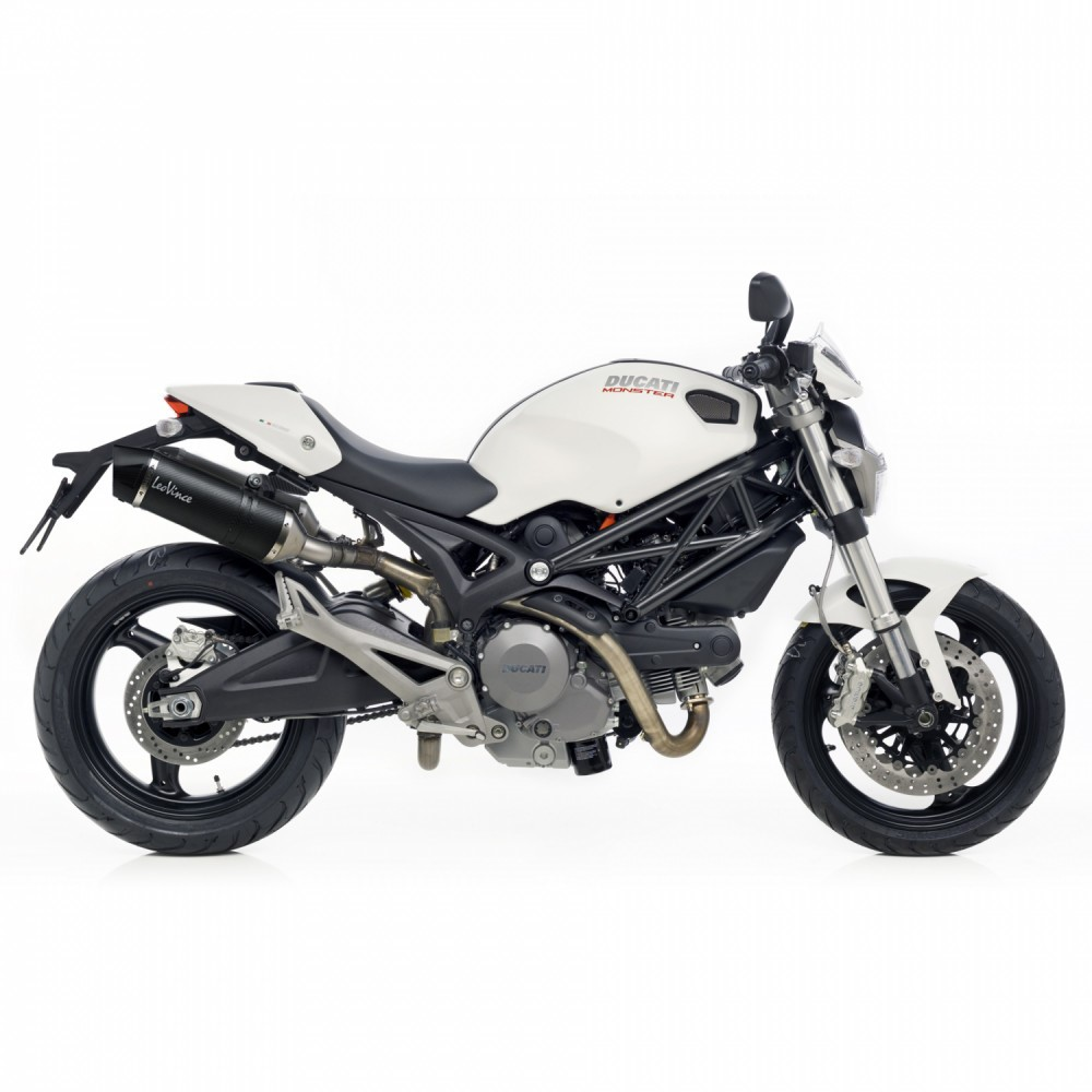 ducati monster 696 leovince lv one evo slip on exhausts. Black Bedroom Furniture Sets. Home Design Ideas