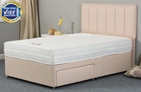 0f520ff7d4d4 Faith Memory Firm Sprung Divan Bed By Sweet Dreams - 4ft Small Double