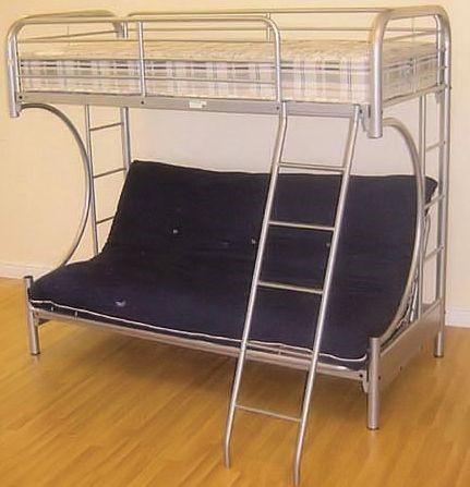 Futon Bunk Bed Cynthia Bunk Beds With Futon