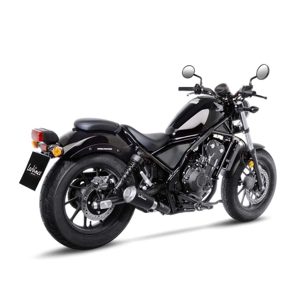 honda cmx 500 rebel leovince lv 10 race slip on exhaust. Black Bedroom Furniture Sets. Home Design Ideas