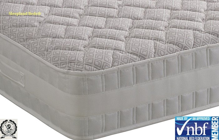 detailed look 1697d 9a9ca Healthbeds Heritage Latex 1400 Pocket Sprung Mattress - 5ft ...