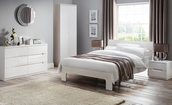 High Gloss White Bedroom Furniture, White Bedroom Furniture Packages