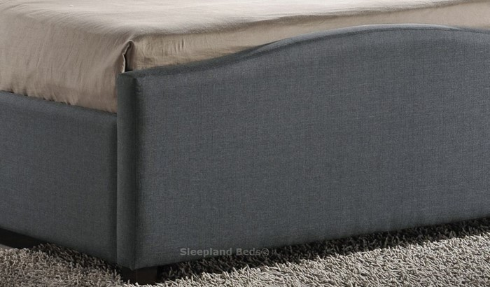 Swell Inspire Brunswick Grey Fabric Side Opening Ottoman Storage Gmtry Best Dining Table And Chair Ideas Images Gmtryco