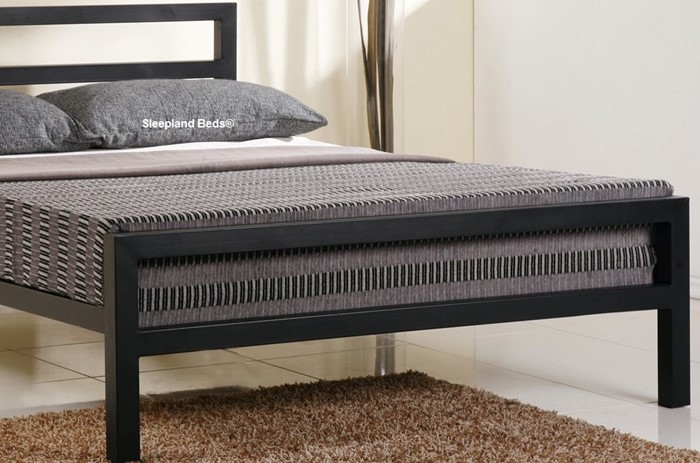 modern metal bed frame 4ft6 double