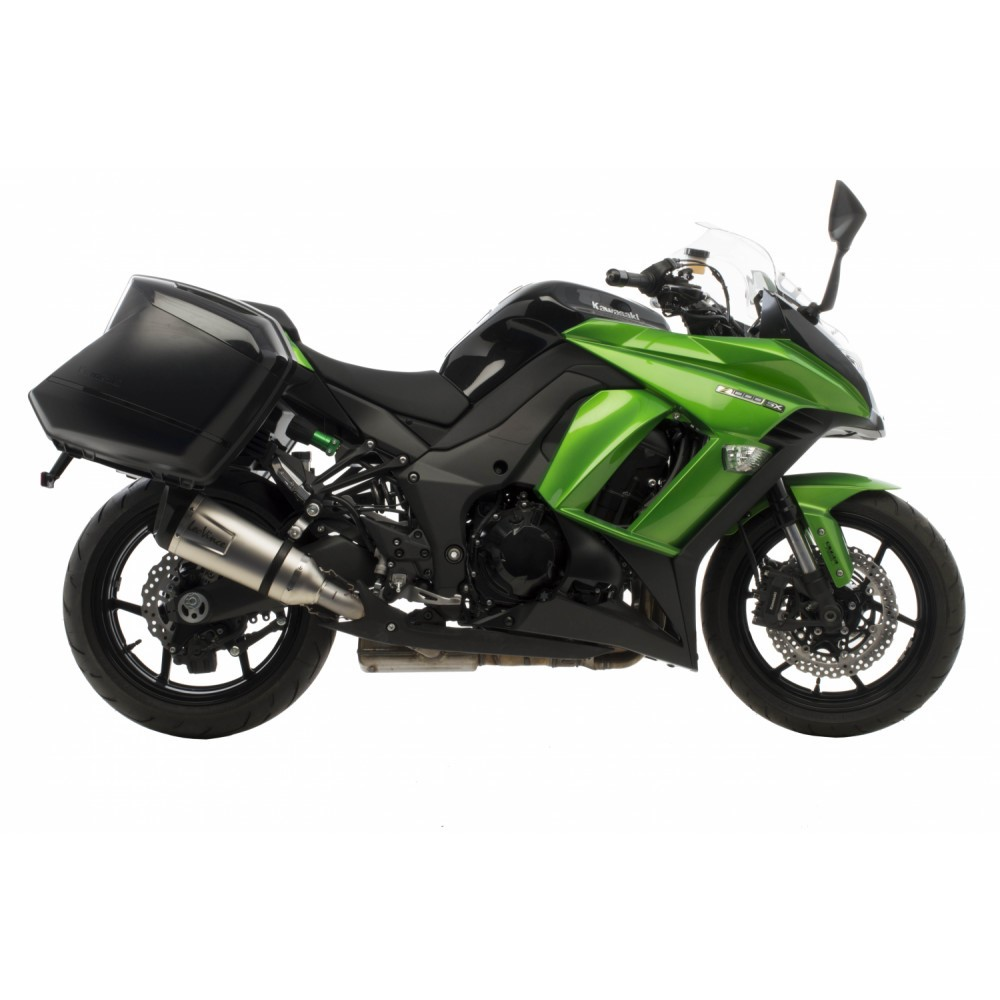 kawasaki z1000 sx leovince factory s slip on exhausts. Black Bedroom Furniture Sets. Home Design Ideas
