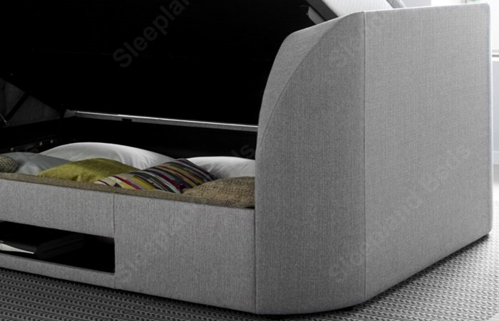 Enjoyable Kaydian Barnard Tv Storage Bed Kingsize Sleepland Beds Forskolin Free Trial Chair Design Images Forskolin Free Trialorg