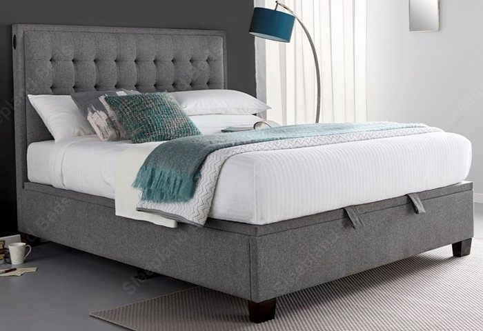 Strange Kaydian Cheviot Automatic Lift Ottoman Bed Sleepland Beds Pabps2019 Chair Design Images Pabps2019Com