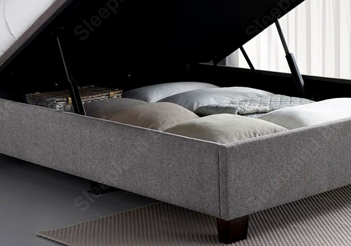 Remarkable Kaydian Cheviot Automatic Lift Ottoman Bed Sleepland Beds Pabps2019 Chair Design Images Pabps2019Com