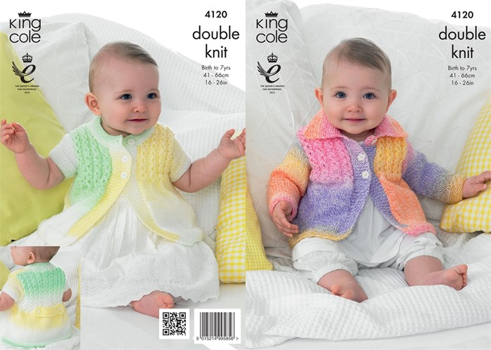 27918d5a7 King Cole Pattern Leaflet for premature/dolls KC4120|patterns|wool4less