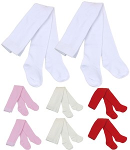 ce57bb36369f8 Pack of 2 Baby Girls Tights - size newborn - 12 months