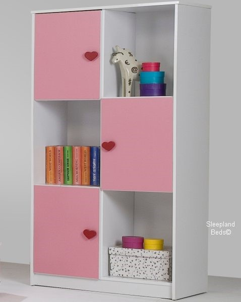 Pink Heart Childrens Bed And Furniture Sleepland Beds