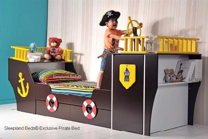 Pirate Ship Bed Children S Beds Sleepland Beds