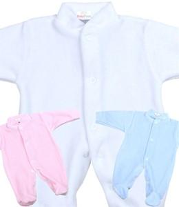 dfb74e6aac2 Plain Velour Sleepsuit for Premature Preemie Babies