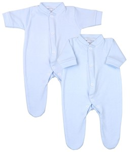 Premature Early Baby Clothes Pack of 2 Scratch Mittens1.5lb,3.5lb,5.5lb,7.5lb Blue