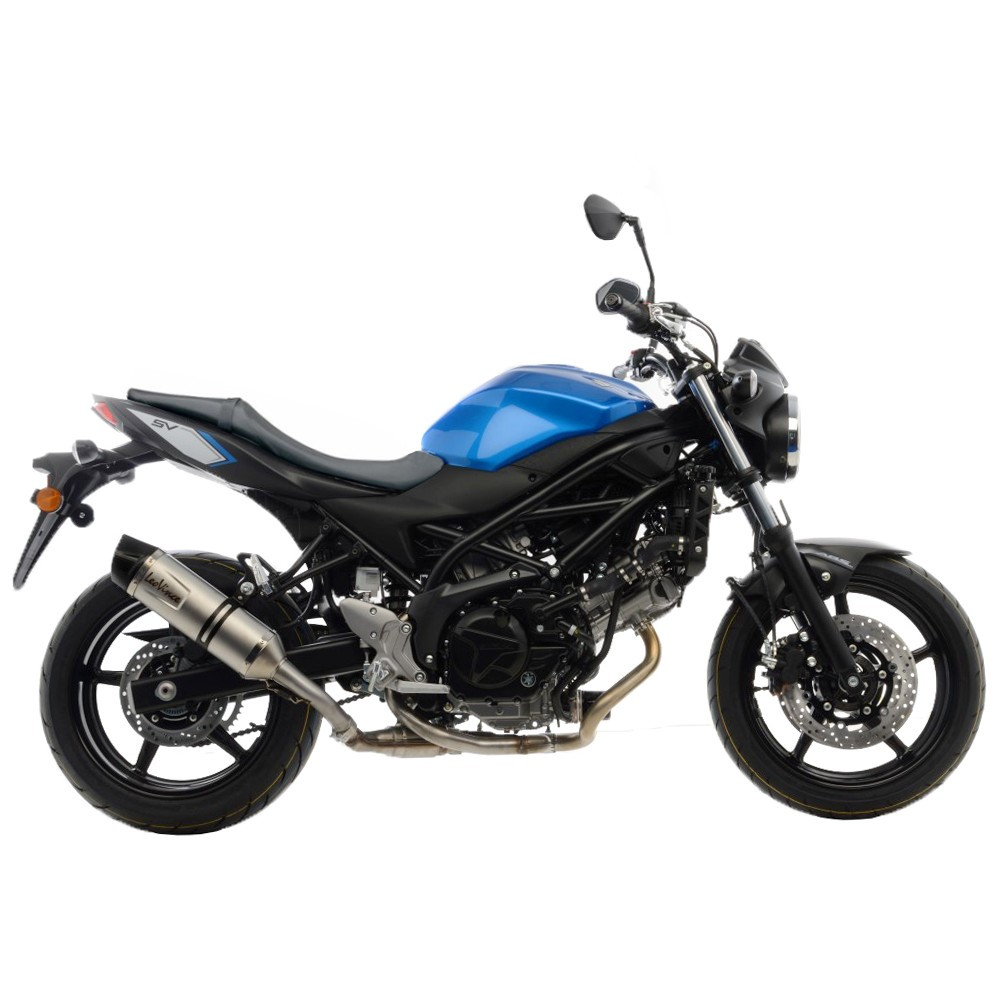 suzuki sv 650 leovince lv one evo slip on exhaust. Black Bedroom Furniture Sets. Home Design Ideas