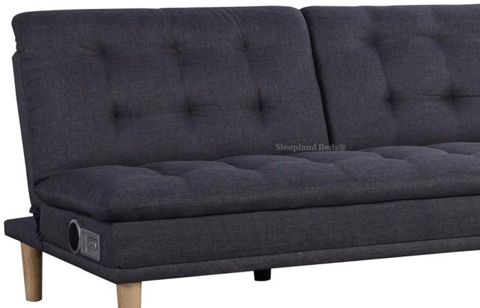 Sweet Dreams Cincannati Sofa Bed Grey