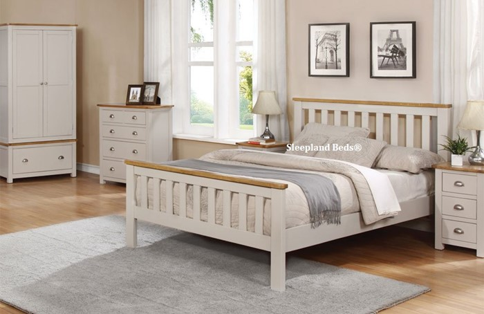 Sweet Dreams Cooper Grey Bedroom Furniture Sleepland Beds