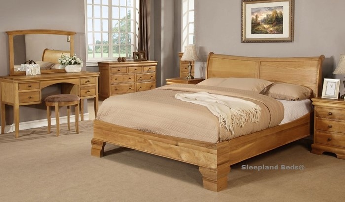 check out 2b540 d1114 Sweet Dreams Grayson Oak Bedroom Furniture - Sleepland Beds