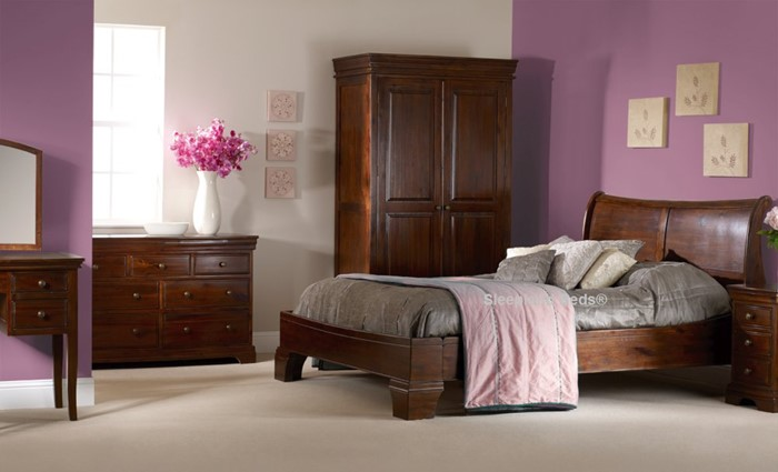 Magnificent Sweet Dreams Lincoln Dark Wood Bedroom Furniture Sleepland Download Free Architecture Designs Ferenbritishbridgeorg