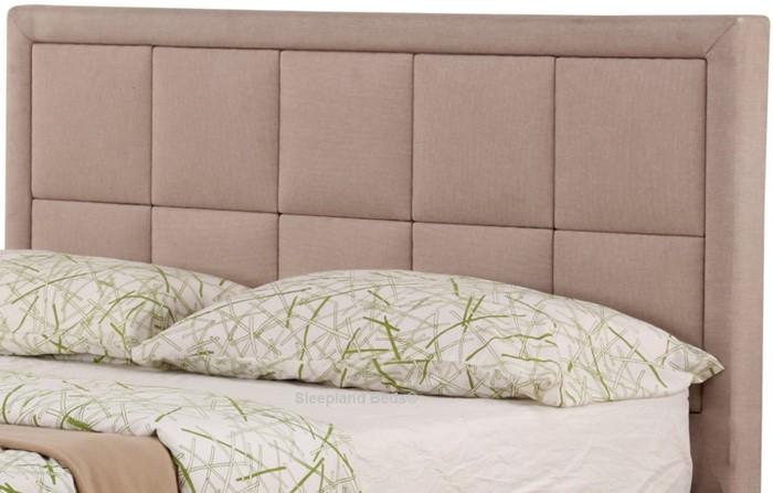 Terrific Sweet Dreams Sia Ottoman Bed In Dark Tan Fabric 3Ft Single Creativecarmelina Interior Chair Design Creativecarmelinacom