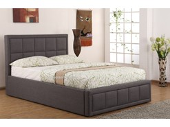 Excellent Sia Grey Fabric Ottoman Bed By Sweet Dreams 4Ft6 Double Creativecarmelina Interior Chair Design Creativecarmelinacom