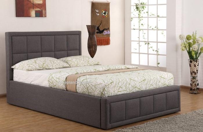 Miraculous Sweet Dreams Sia Ottoman Bed Grey Fabric Sleepland Beds Creativecarmelina Interior Chair Design Creativecarmelinacom