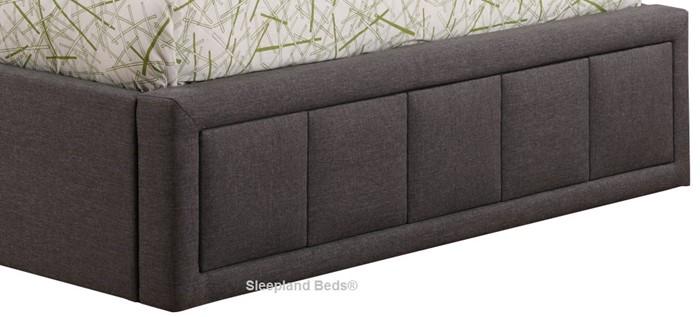 Groovy Sweet Dreams Sia Ottoman Bed Grey Fabric Sleepland Beds Creativecarmelina Interior Chair Design Creativecarmelinacom