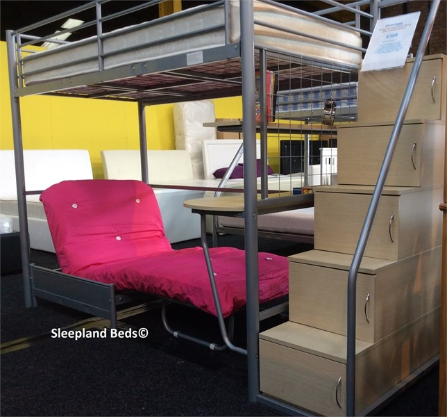 Venus Luxury High Sleeper Bunk Bed