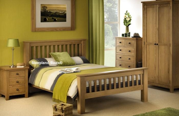 White Oak Mabrella Bedroom Furniture   Solid Oak   Sleepland ...