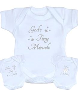 315948392ba White   Silver Premature Baby Bodysuits